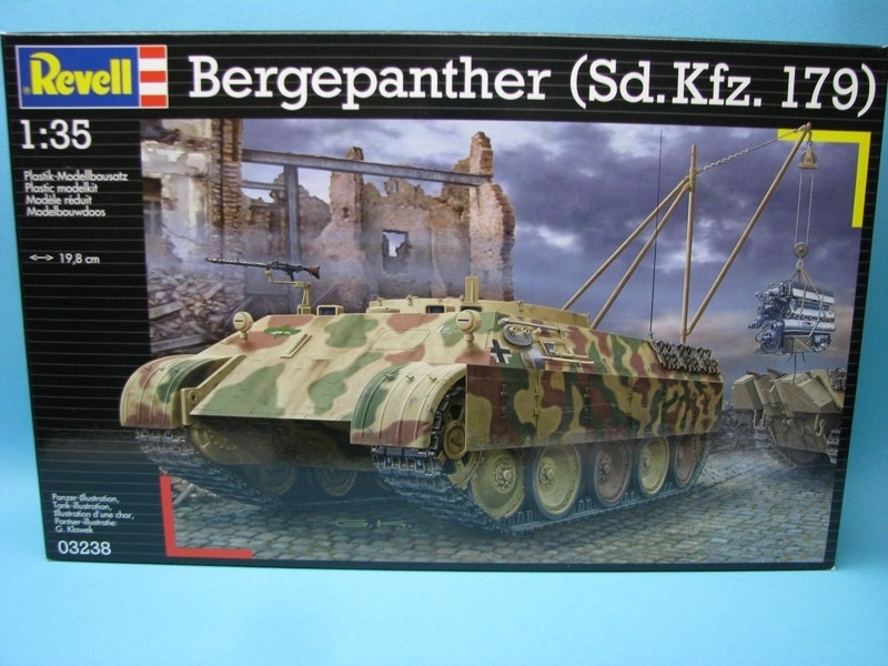 Bergepanther Sd.Kfz. 179 1:35 Revel
